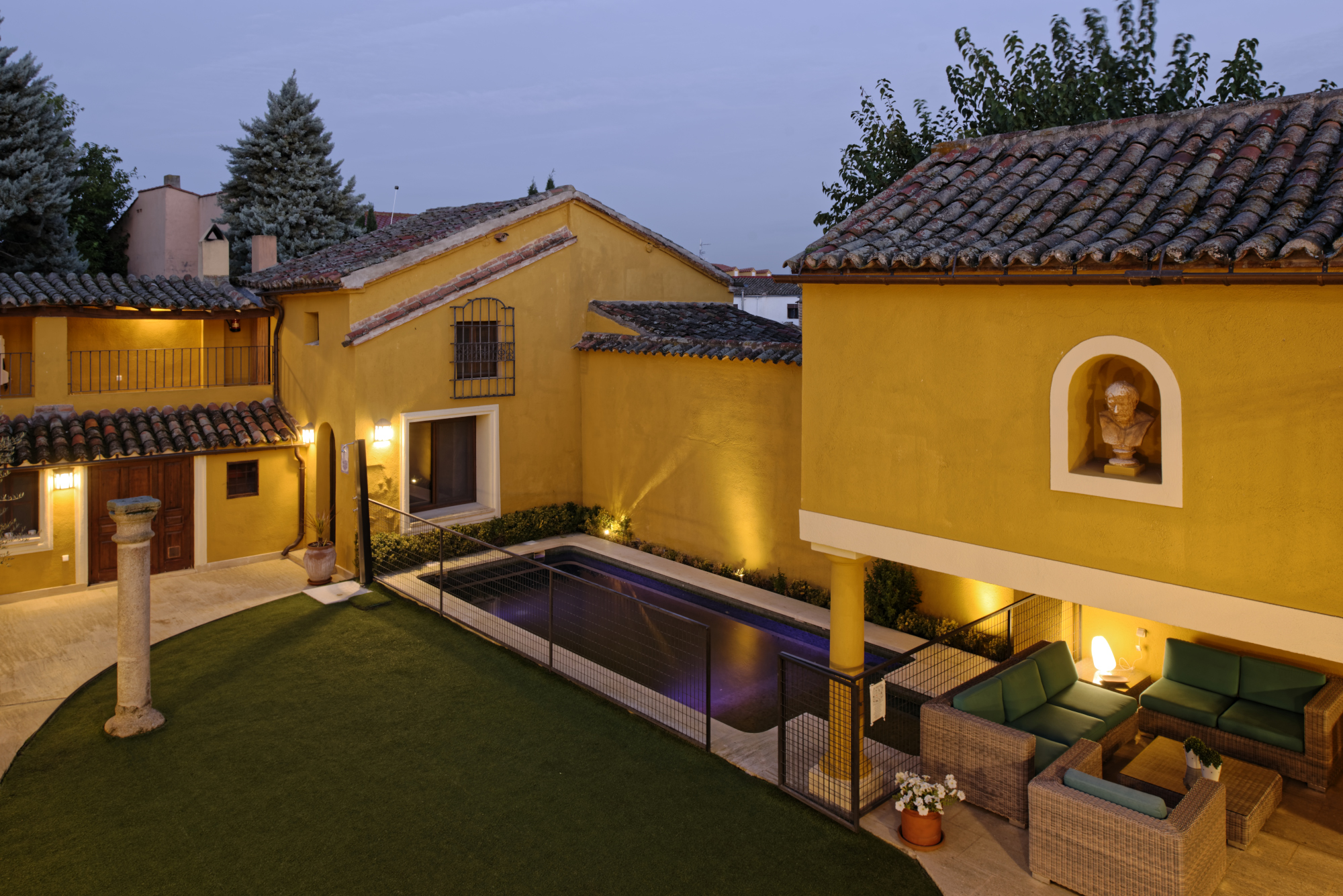 Villa cornelius casa rural de 3 espigas en las herencias casa rural en las herencias casa - Casa rural las herencias ...